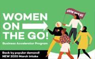 Women on the Go Accelerator Program