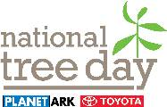 The words National Tree Day