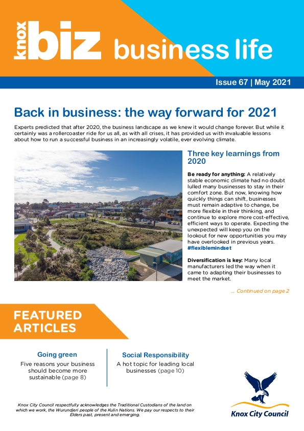 Knox Business Life - Edition 67 - May 2021